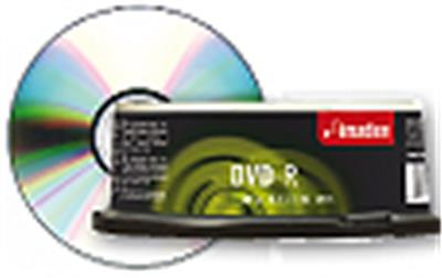 Imation spindle de 25 DVD-R y 4,7GB
