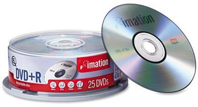 Imation DVD+R de 16x 4,7GB