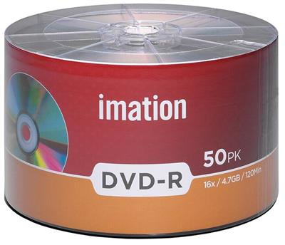 Imation spindle 50 DVD-R 4,7GB