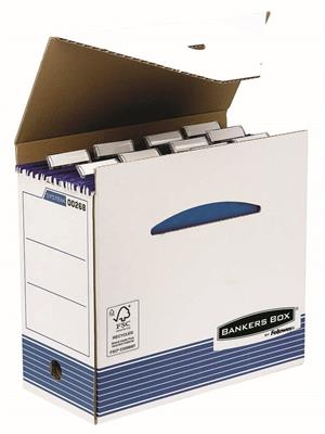 Fellowes caja archivo plus manual
